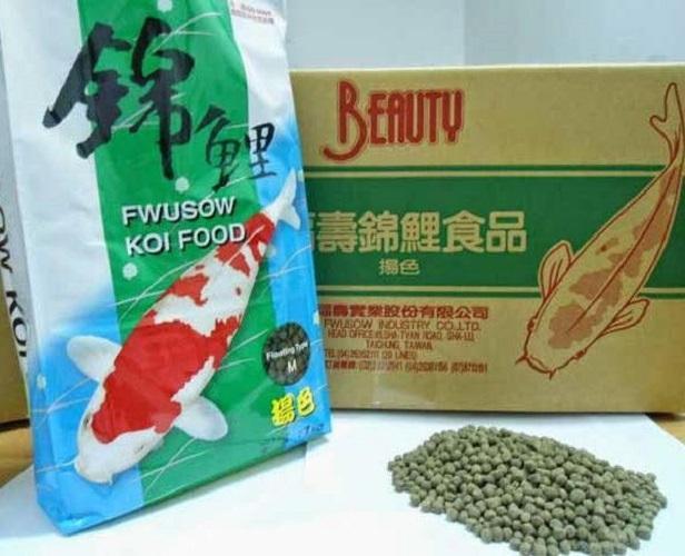 Giá Bán Thức Ăn Cho Ca Cảnh Ca Rồng Koi Fwusowkoi Độ Đạm Cao Nguyên Oem