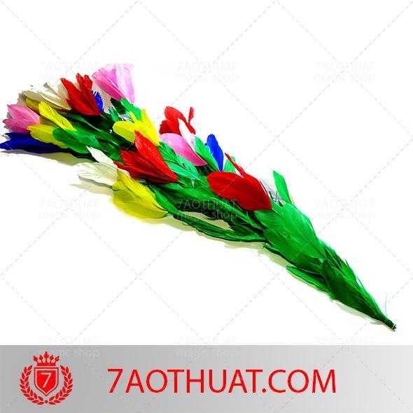 Hình ảnh Dụng cụ ảo thuật sân khấu cao cấp : hoa chơi gậy thép + dvd hướng dẫn miễn phí