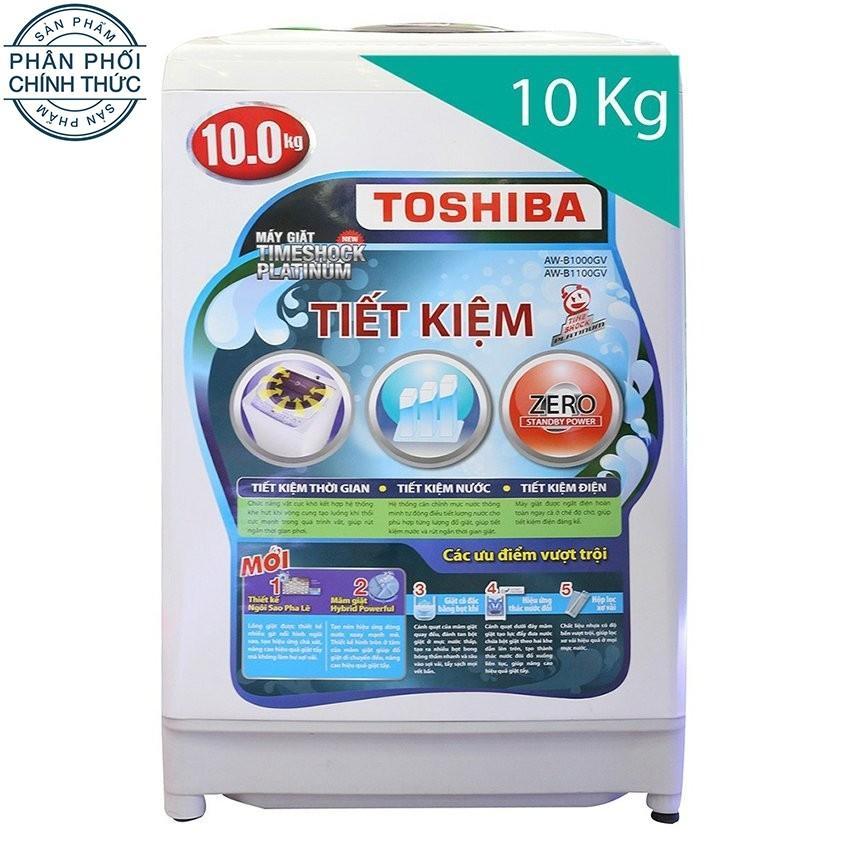 Giá Bán May Giặt Cửa Tren Toshiba Aw B1100Gv Wd 10Kg Trắng Toshiba Nguyên