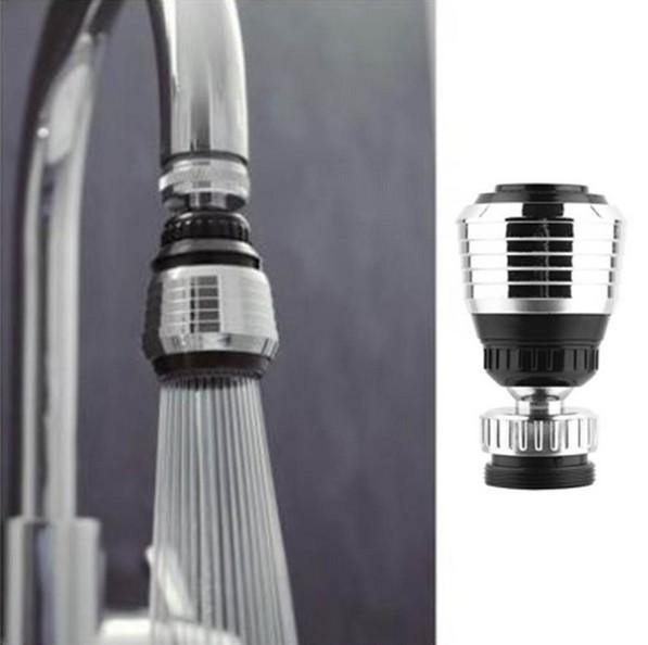 Combo 5 đầu vòi rửa xoay đa chiều, 2 chế độ phun Hoa sen và dòng chảy