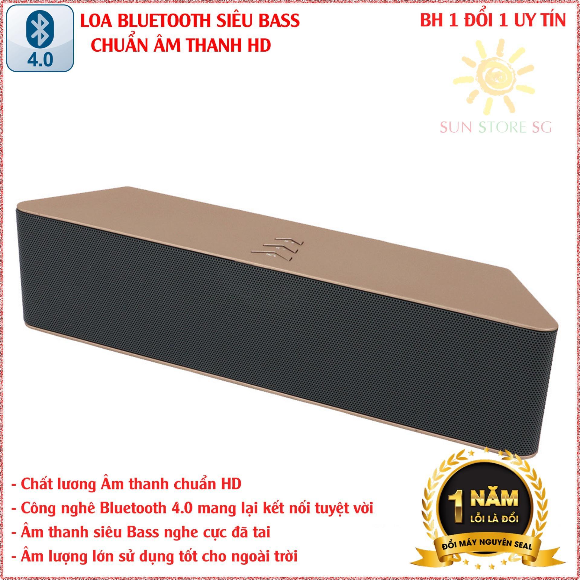 Hình ảnh Loa Bluetooth Siêu Trầm Công Suất Lớn - Nghe miễn chê với Âm thanh chuẩn HD - Hàng Nhập Khẩu Cao Cấp
