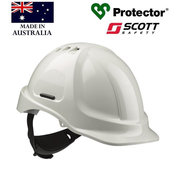 Nón bảo hộ Protector HC600V - màu trắng