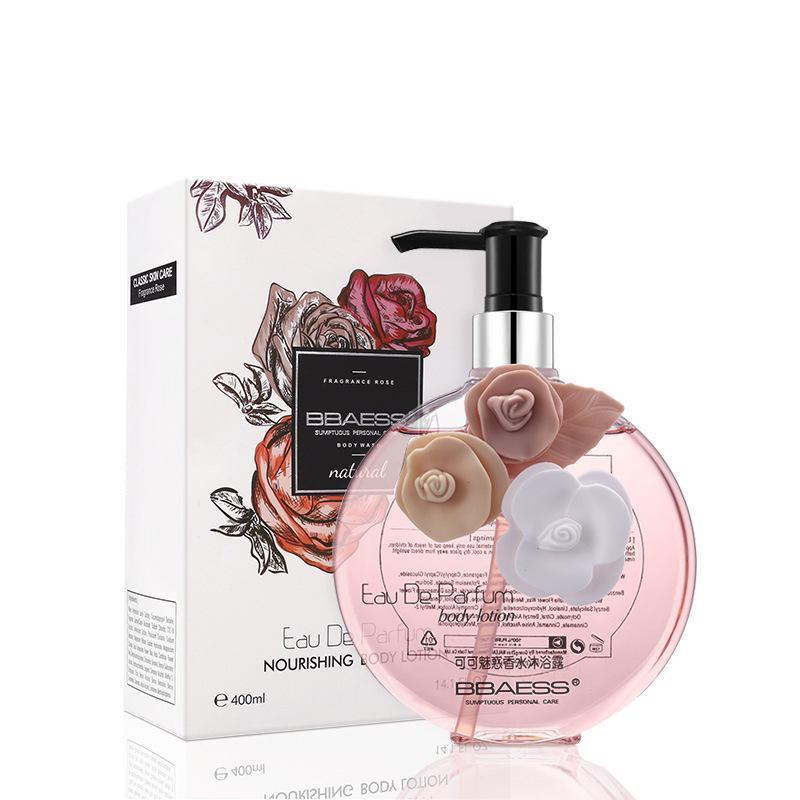 Sữa tắm dưỡng trắng da hương nước hoa BBAESS Natural Eau De Parfum 400ml nhập khẩu