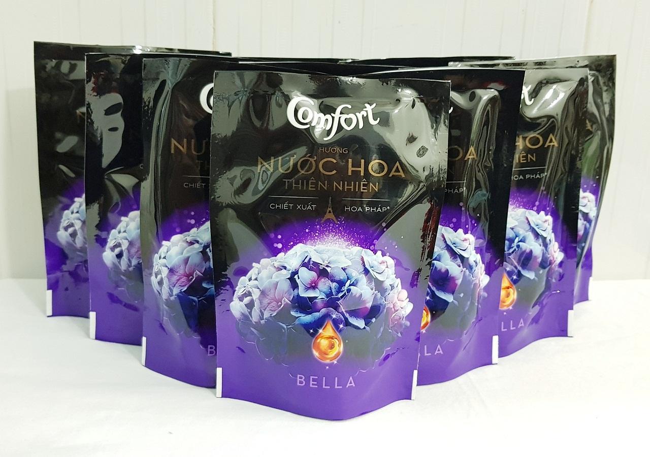 Hình ảnh Combo 10gói nước xả Comfort đậm đặc hương nước hoa thiên nhiên (120ml)