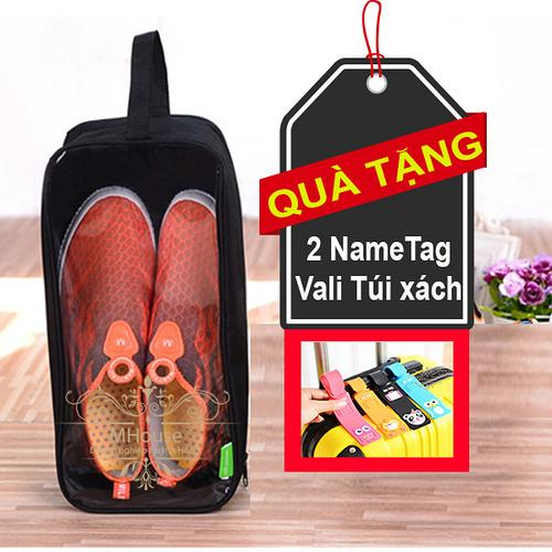 Hình ảnh Túi Giày chống thấm nước. Túi đa năng đựng các vật dụng khác. Tặng 2 nhãn nametag vali túi xách
