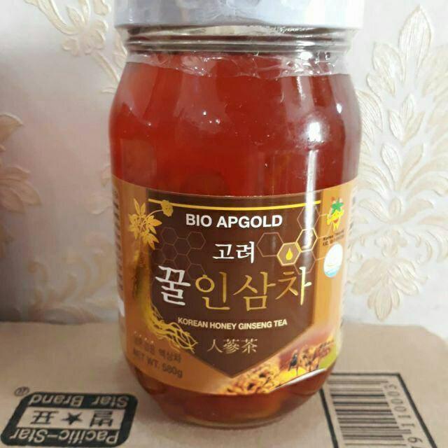 Sâm tươi ngâm mật ong Hàn Quốc Bio Apgold 580g
