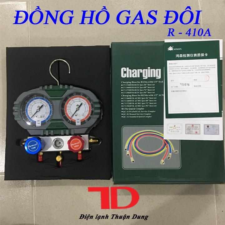 Hình ảnh ĐỒNG HỒ ĐO ÁP SUẤT GAS MÁY LẠNH R-410A