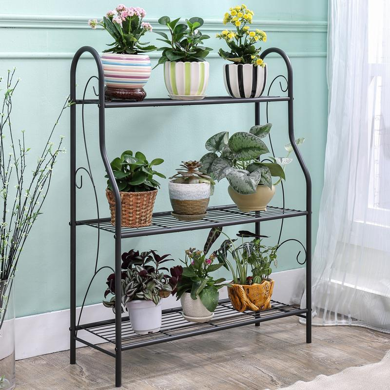 Shome nuo Iron Art multilayer terrace/patio flowerpot shelf pergola