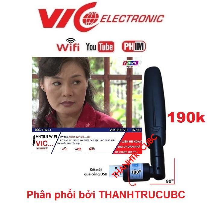 Hình ảnh Anten Wifi VIC Electronic Kết nối INTERNET - YOUTUBE*HOT*