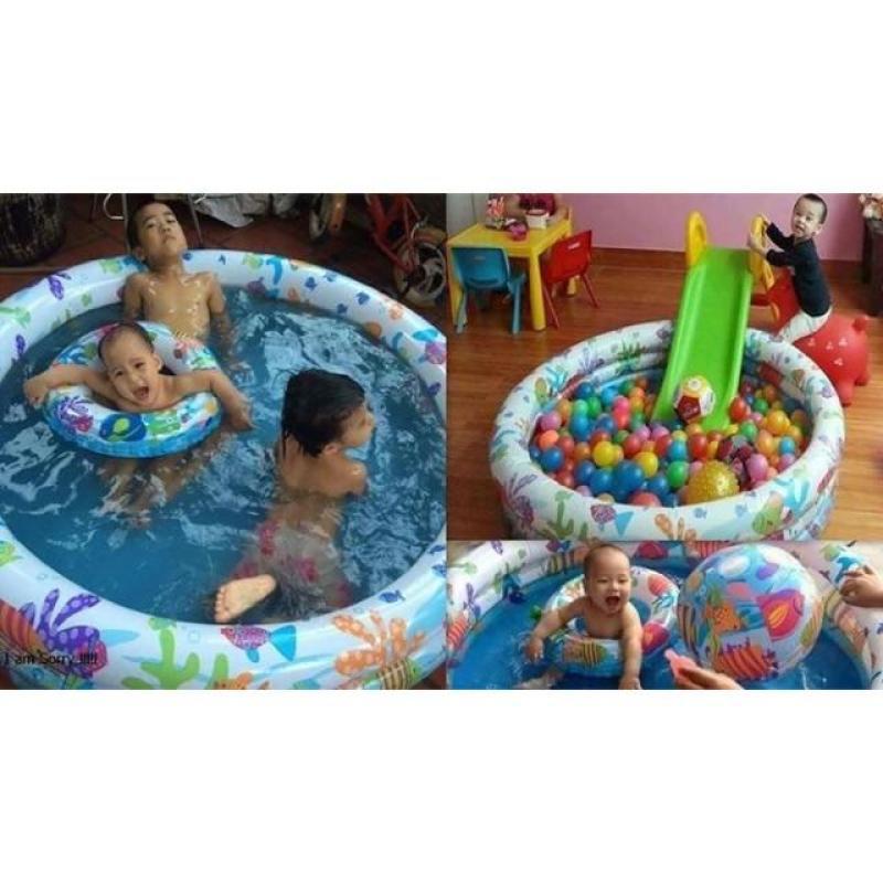 Bể bơi phao 3 tầng 3 chi tiết