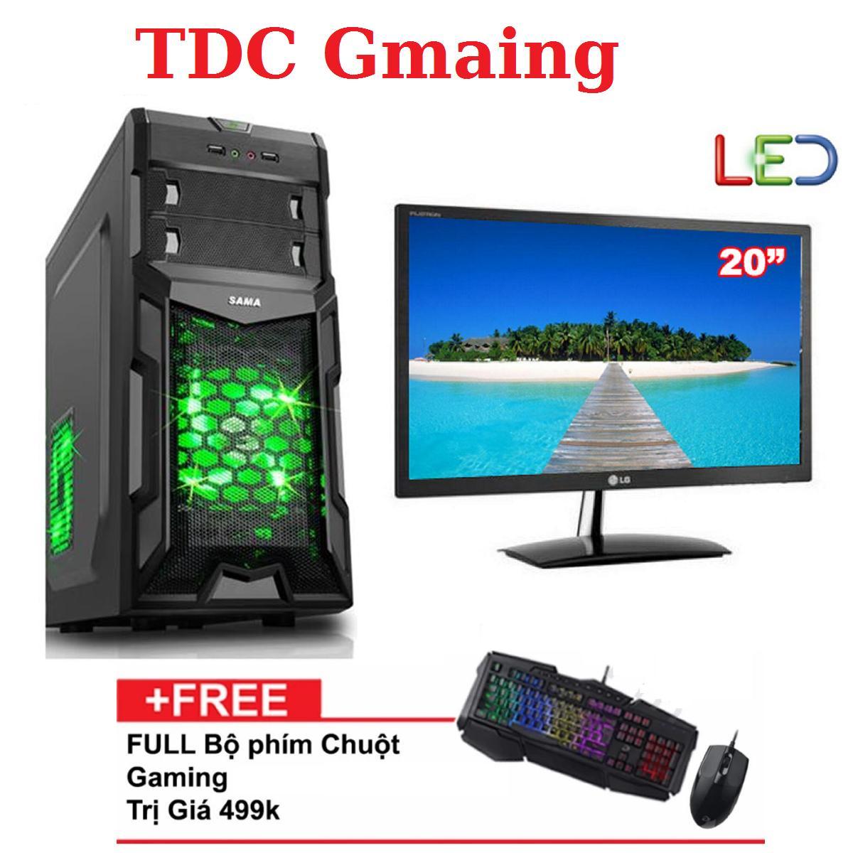 Hình ảnh { FULL } Bộ máy tính game TDCGaming intel core i7 2600/ Ram 8gb/ Hdd 500gb , Màn hình LG 20 inch - Tặng phím chuột giả cơ chuyên game - Bảo hành 24 tháng 1 đôi 1.