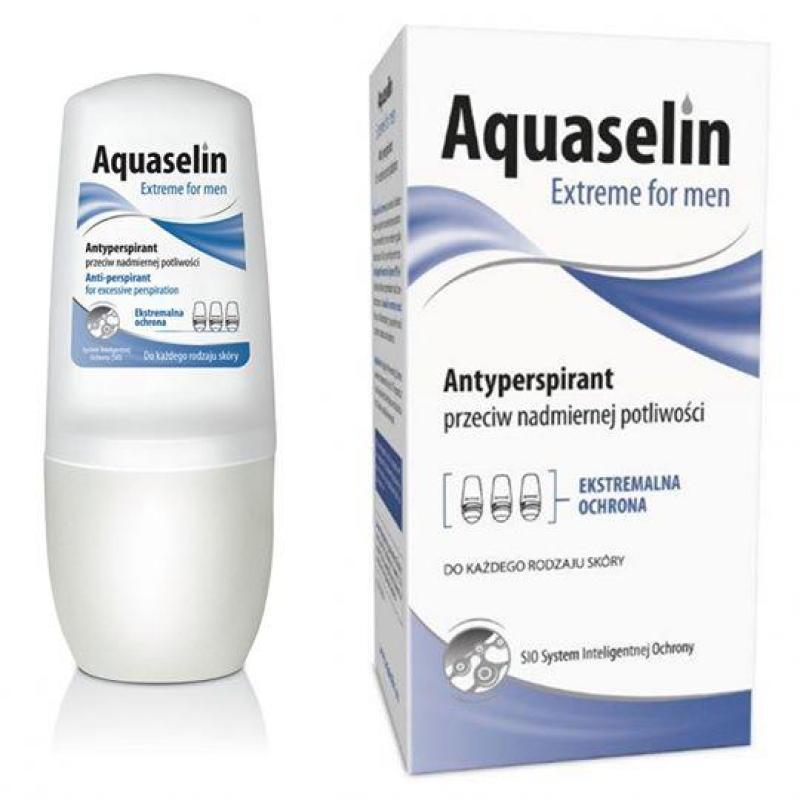 Aquaselin - Lăn nách ngăn tiết mồ hôi và khử mùi dành cho nam nhập khẩu