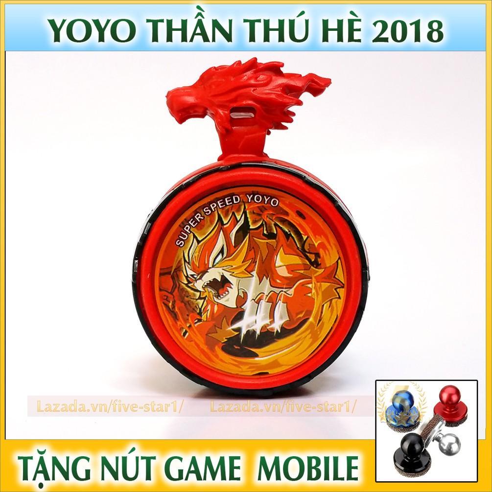 Hình ảnh Đồ chơi con quay YOYO Thần hổ cấp 3 + Tặng nút game Joystick (YOYO.TL2)