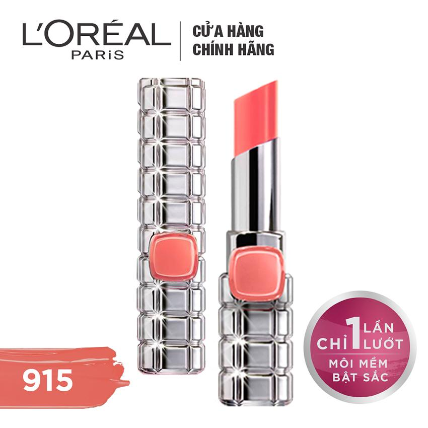 Giá Bán Son Mau Dưỡng Moi L Oreal Paris Color Riche Shine On 915 Sunrise Luxemburg L Oreal Paris Mới