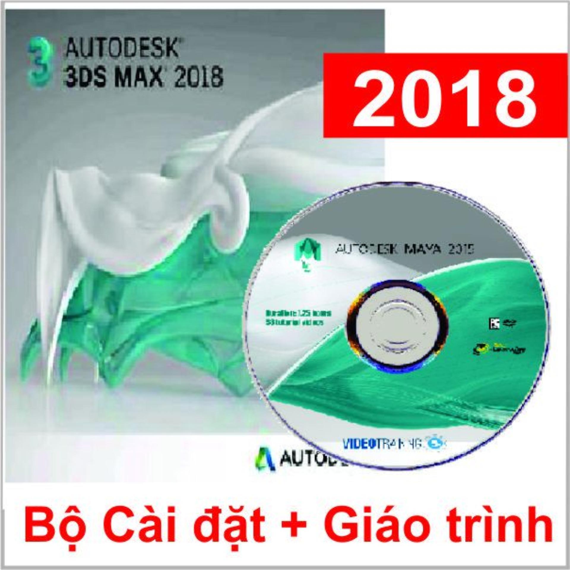 Bộ DVD 3DS Max 2018_Giáo Trình A-Z