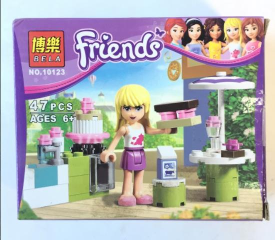 Bộ Lego Friends NO.LF10123 hỗ trợ phát triển tư duy cho bé