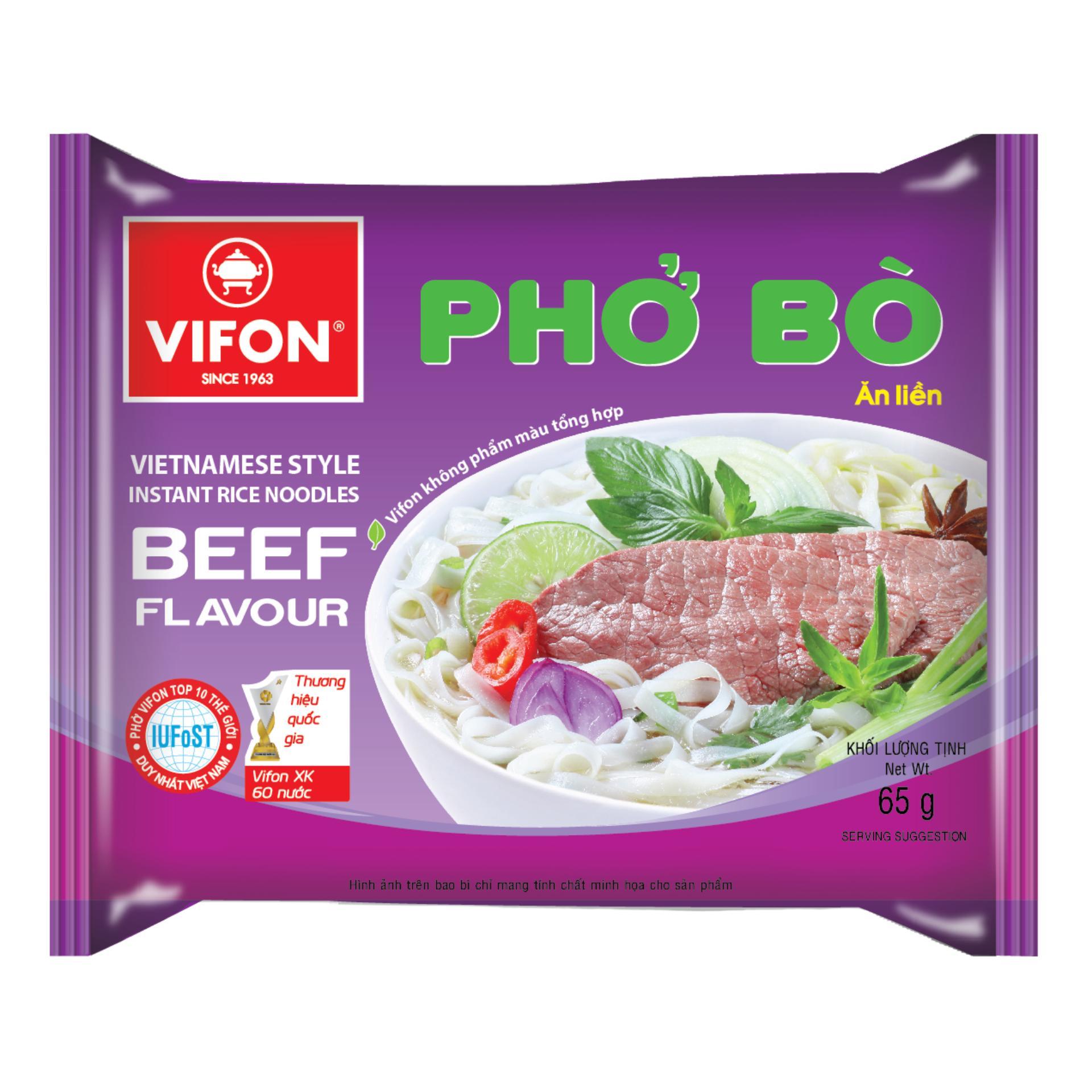 Bán Thung 30 Goi Phở Bo 65G Vifon Vifon Trực Tuyến