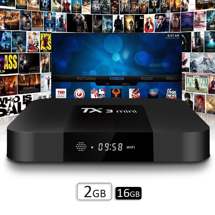 Hình ảnh Androdi tivi box Tx3 mini - Ram 2GB - Rom 16GB - Bản Enybox