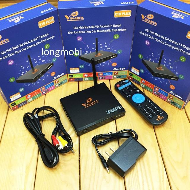 Hình ảnh Box Smart Tivi Vinabox X10 plus - 2G