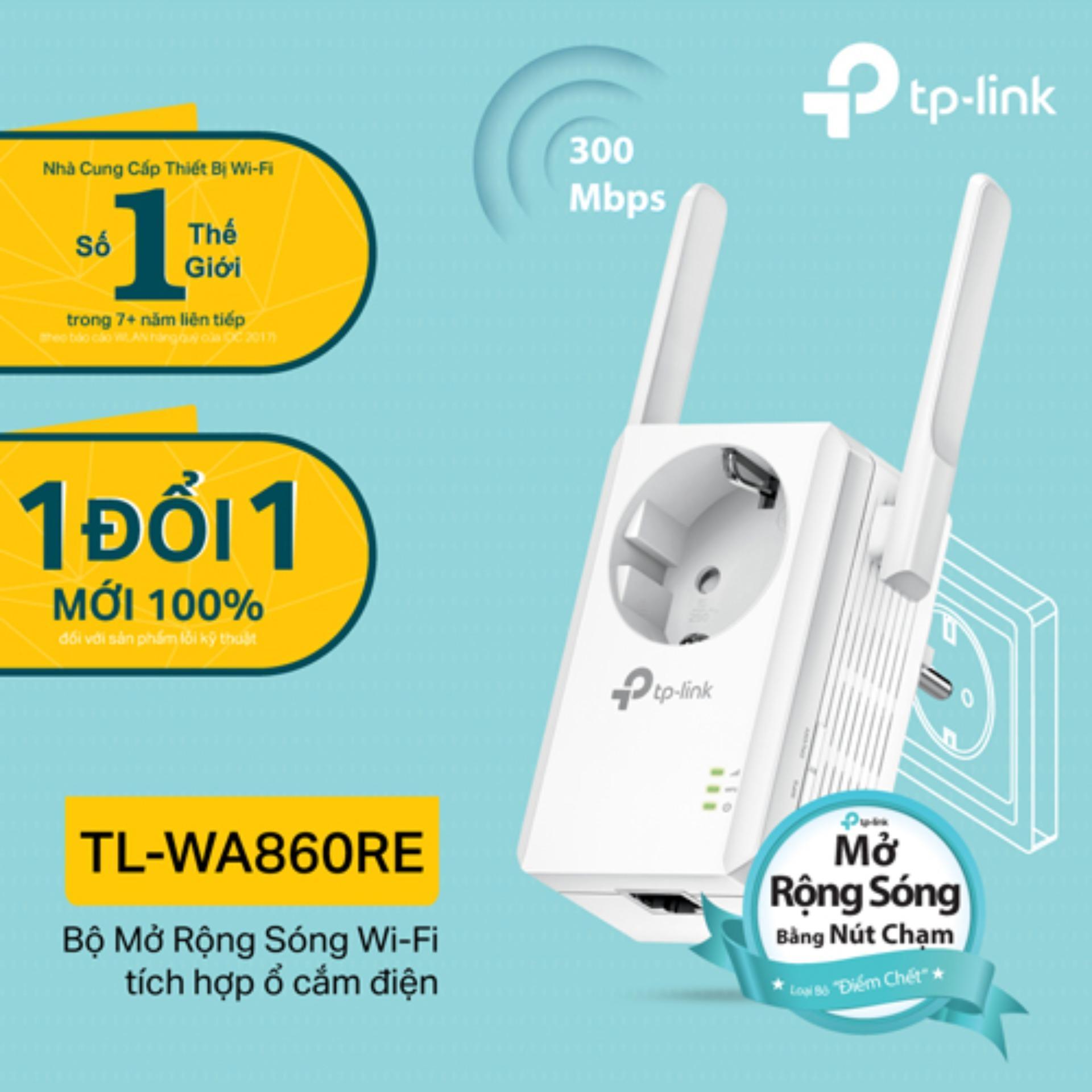 Tp Link Tl Wa860Re Bộ Mở Rộng Song Wifi Chuẩn N 300Mbps Tich Hợp Ổ Cắm Điện Hang Phan Phối Chinh Thức Tp Link Rẻ Trong Hồ Chí Minh