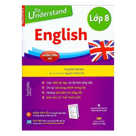 Mua To Understand English (Lớp 8)