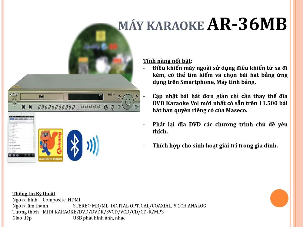 KARAOKE AR-36MB