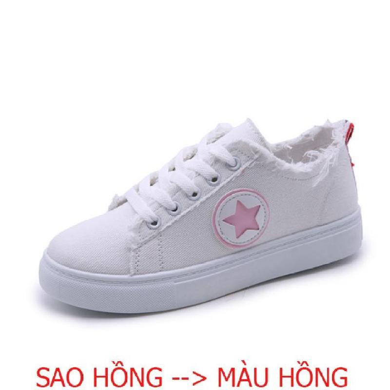 Giày Sneaker Vải Nữ Nhập Khẩu