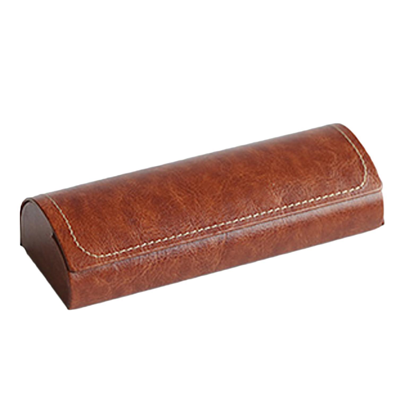 a15b0876e6 Durable PU Leather Magnetic Closure Hard Eyeglasses Glasses Sunglasses Case  Protector Holder Box Cover Anti-