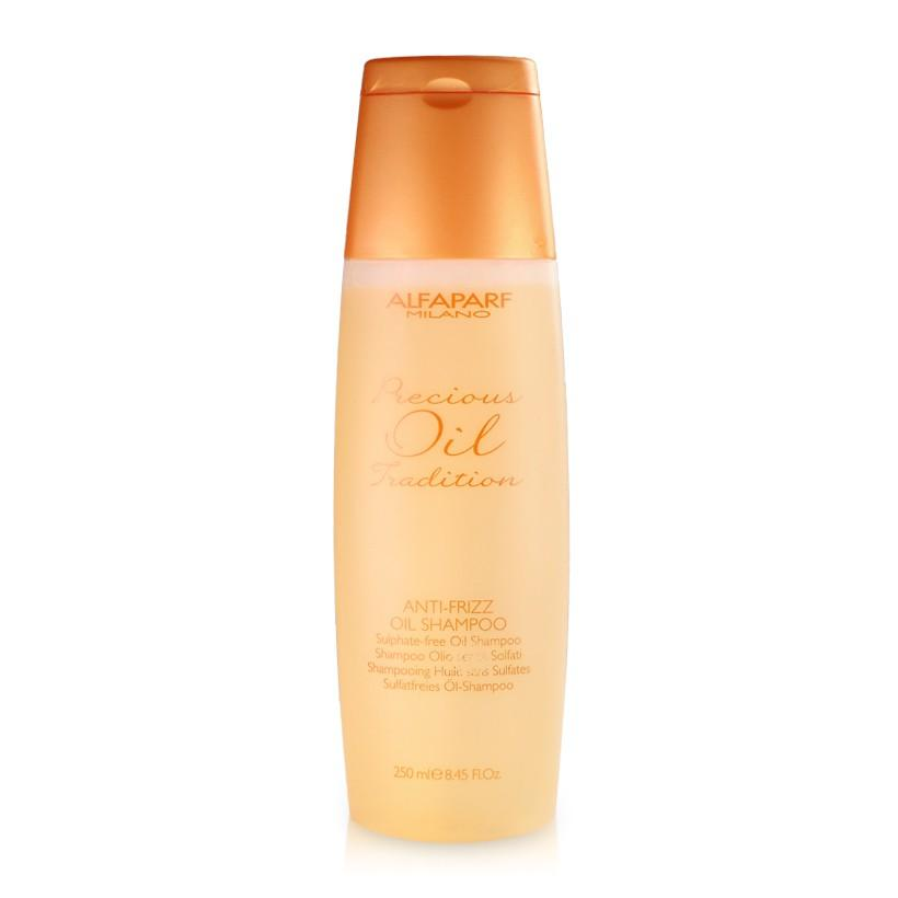 Hình ảnh Dầu gội suôn mượt tóc Alfaparf Milano Precious Oil Tradition Anti-Frizz Oil Shampoo 250ml