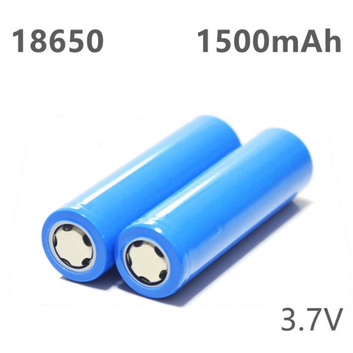 Bộ 8 Pin sạc Lithium 18650 1500mAh
