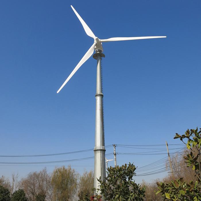 Hình ảnh Máy phát điện Tua bin gió 50KW/380V Solarcity