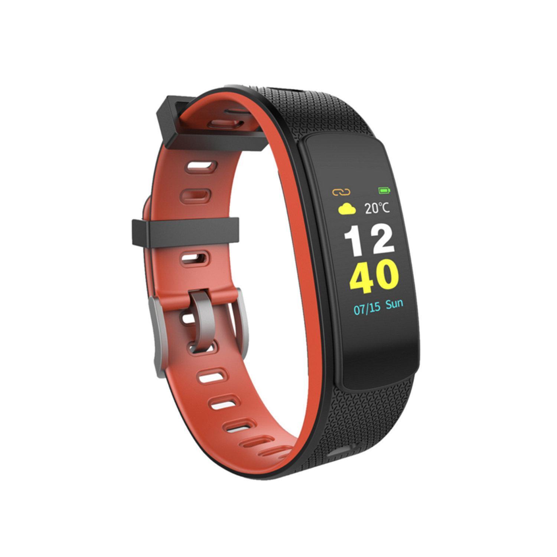 Hình ảnh Vòng đeo tay thông minh theo dõi sức khỏe IWOWN I6 HRC (Màn hình mầu) - Hãng phân phối chính thức