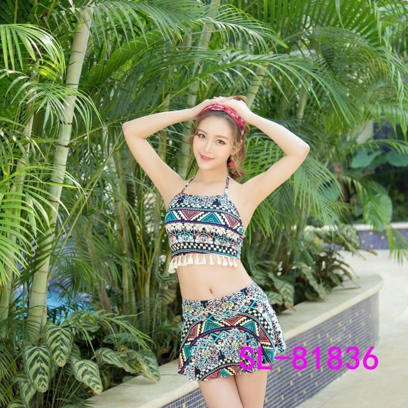 Nơi bán Bộ đồ bơi thổ cẩm hàng siêu gợi cảm cho mùa hè du lịch 2018 ( váy và áo)