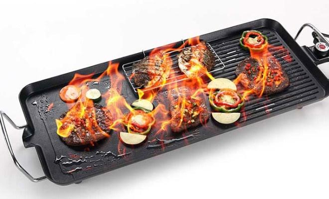 Vỉ nướng không khói Electric Barbecue Plate Samsung DS-6048