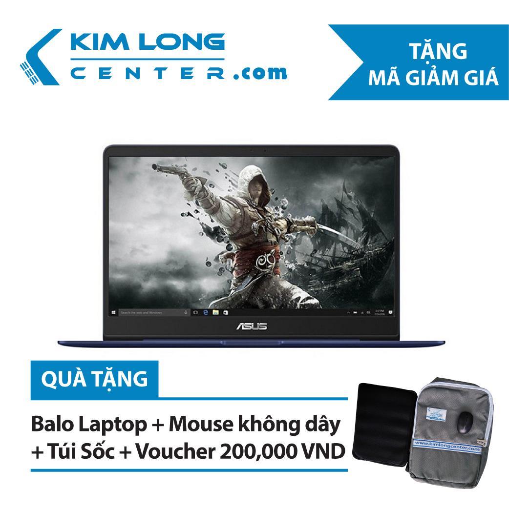 Laptop Asus Zenbook UX430UA-GV334T Core i5-8250U/Win10 (14 inch)- Hàng Chính Hãng - Blue