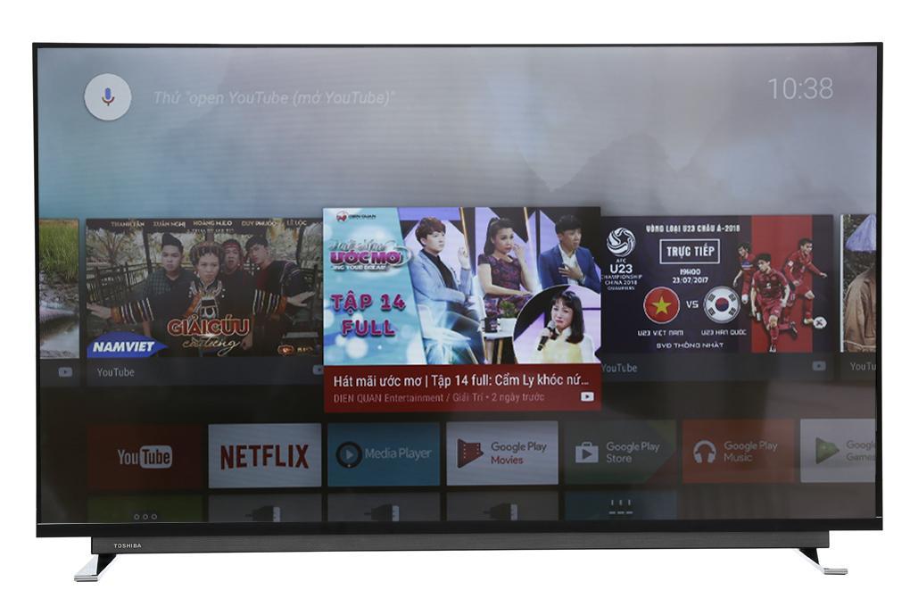 Bảng giá Android Tivi Toshiba 4K 55 inch 55U7750
