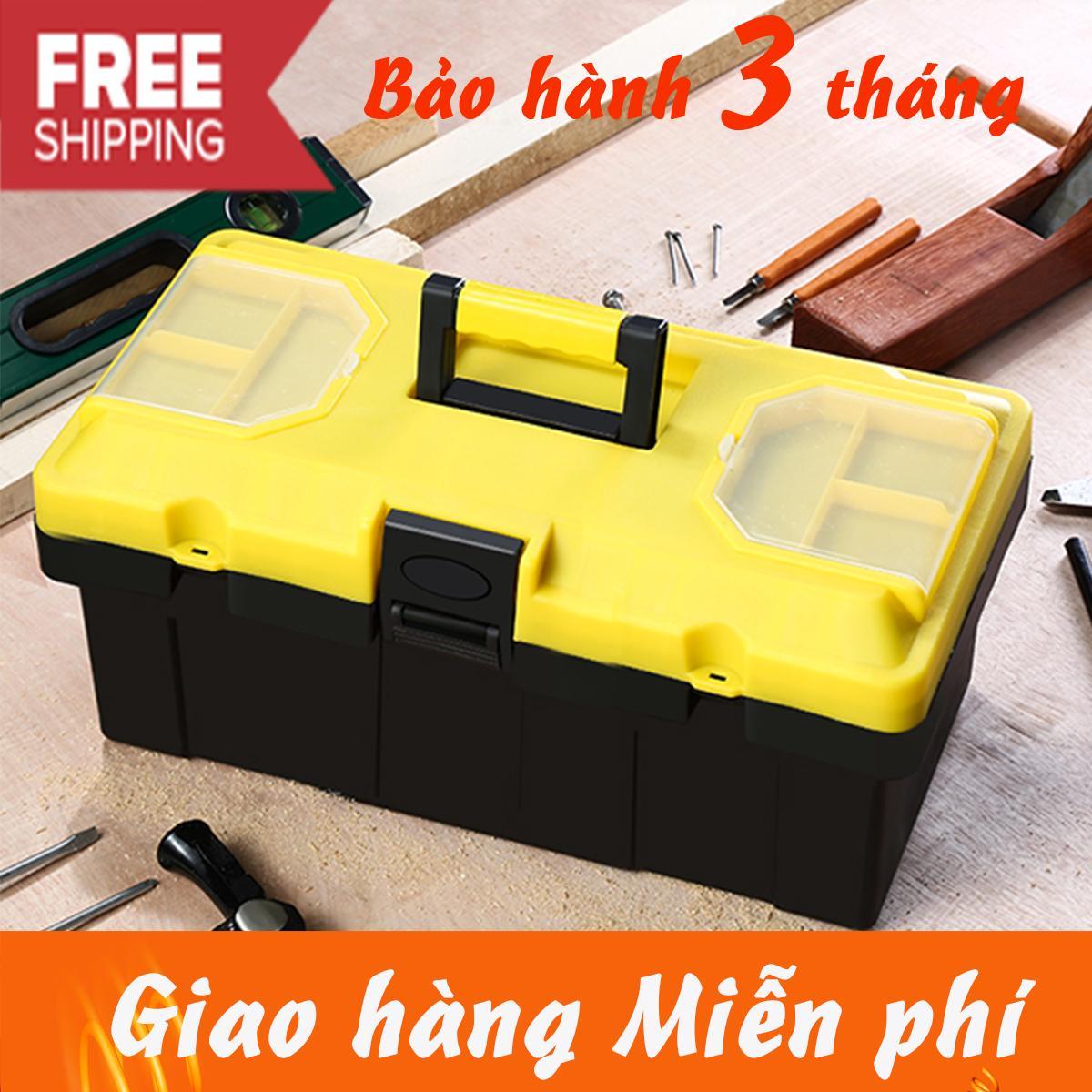 Hình ảnh hộp đựng dụng cụ đồ nghề size nhỏ 14 in cao cấp ( vàng hot)