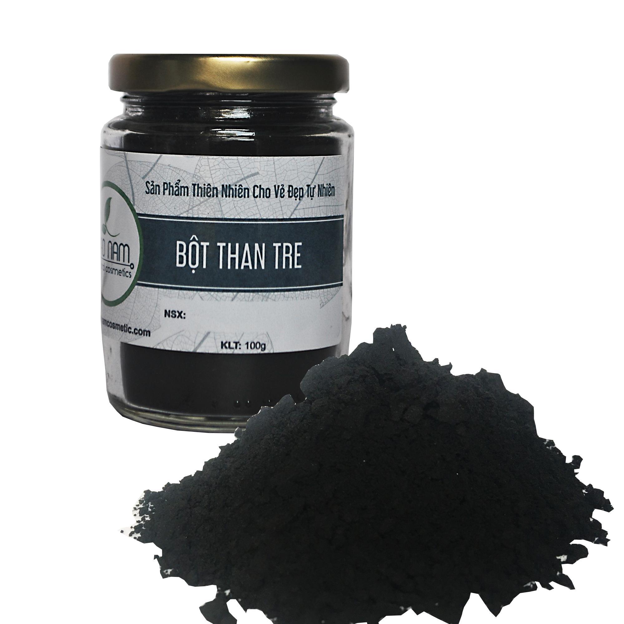Bột than tre hoạt tính làm trắng răng 100gr nhập khẩu