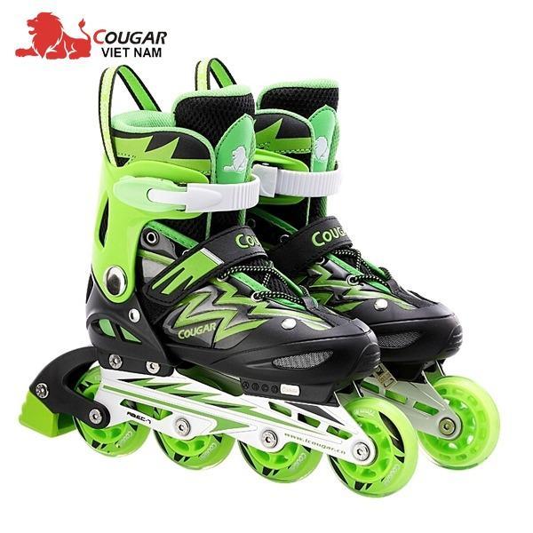 Giày trượt Patin Cougar có đèn - mẫu mới (Full box)