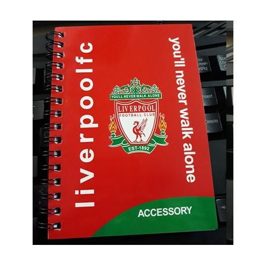 Hình ảnh Sổ ghi chép Liverpool