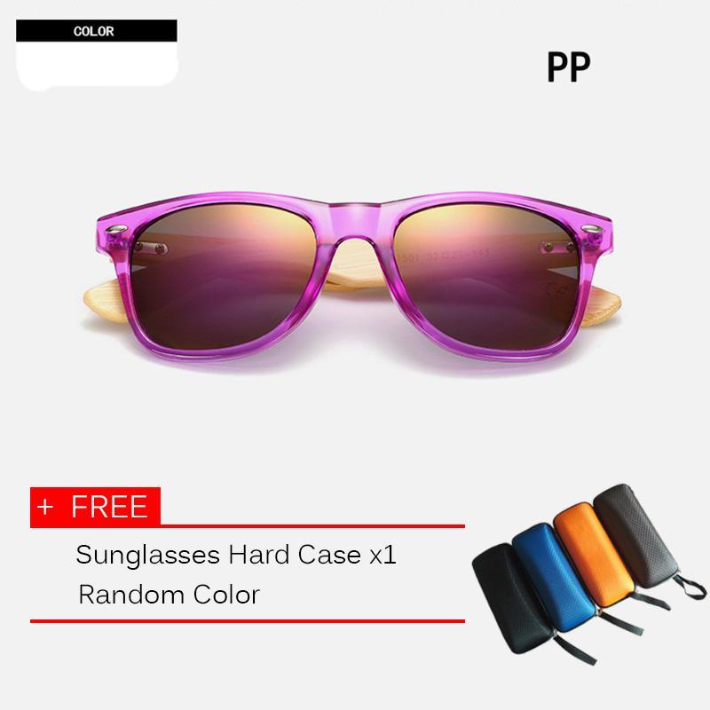954a3143fe320 10 color Wood Sunglasses Men Women square bamboo sunglasses Designer Mirror  Sun Glasses for men women