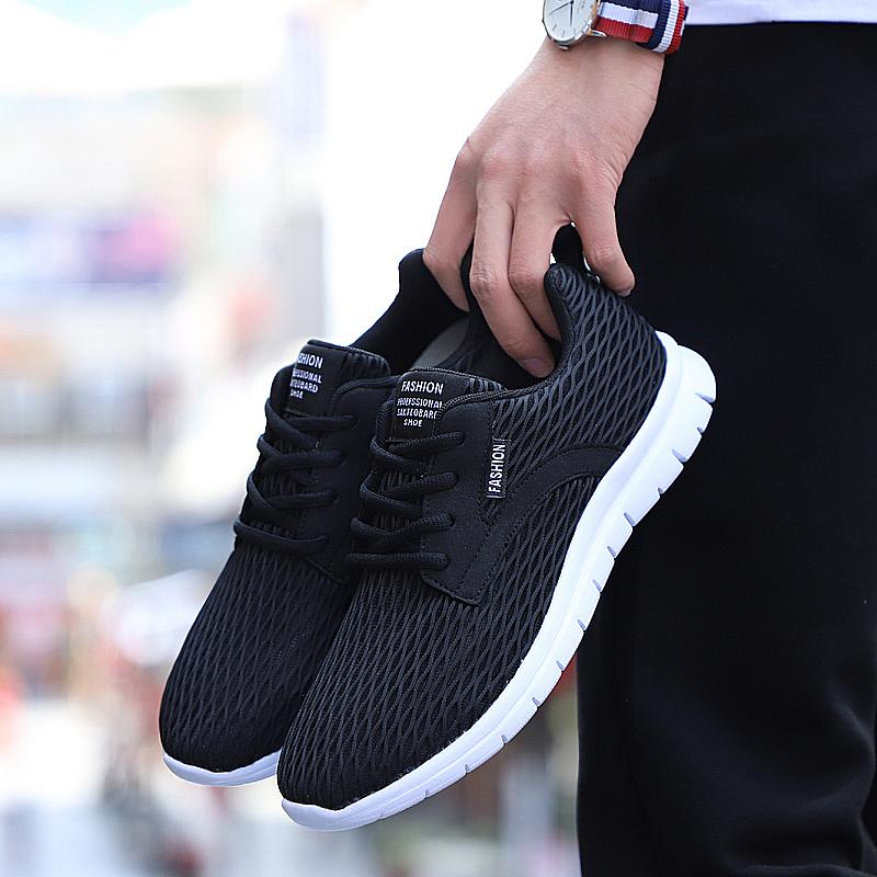 Ôn Tập Cửa Hàng 2018 Classic Design Lightweight Running Shoes Mesh Sports Shoes Jogging Sneakers For Women And Man Autumn Flat Walking Trend Shoes Trực Tuyến