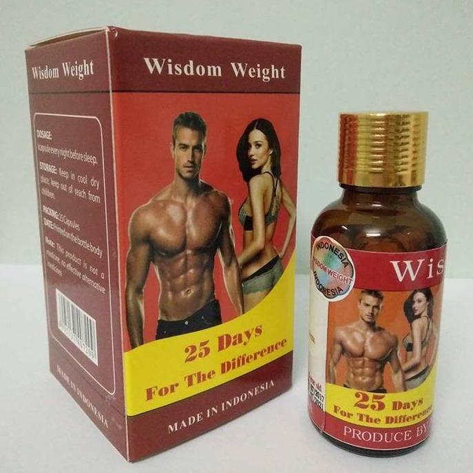 Hình ảnh Thuốc tăng cân hiệu quả Wisdom Weight - Indonesia