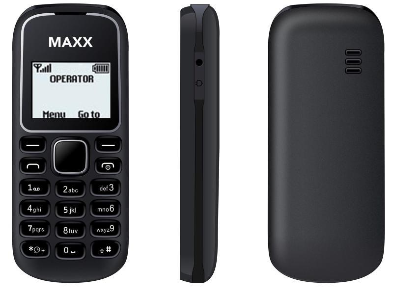 ĐTDĐ MAXX N1280 (Đen) - Bảo hành 12 tháng - HÃNG PHÂN PHỐI CHÍNH THỨC
