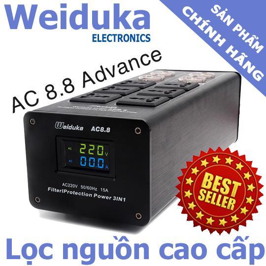 Mua Bộ Lọc Điện Audio Weiduka Ac 8 8 Advance 2018 Con Hang Rẻ Hà Nội