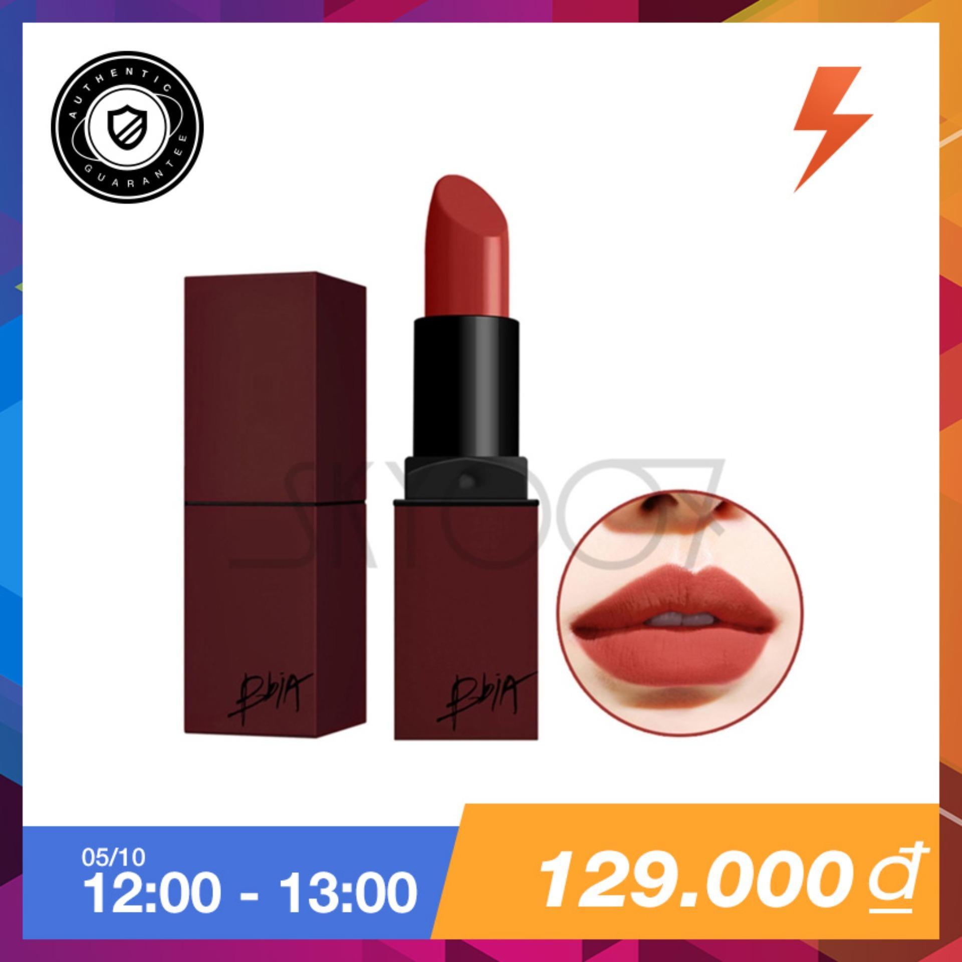 Giá Bán Son Li Vỏ Vuong Bền Mau Bbia Last Lipstick Version 3 12 Fantasy Mau Cam Đất Nguyên