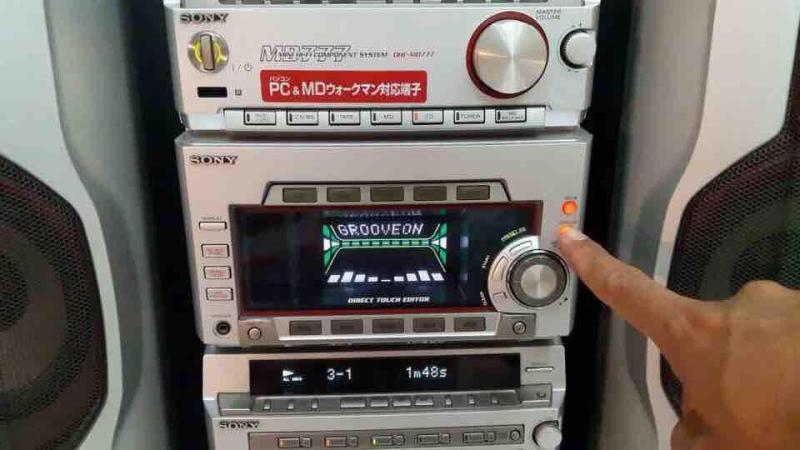 SONY MD-777