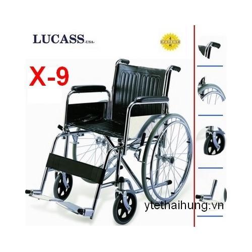 Xe lăn tay dành cho người tàn tật, người già ốm