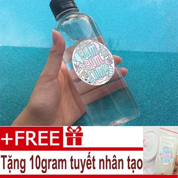 Hình ảnh Dung Dịch Làm Đông Slime Activator ( Freeship ) - Tặng Kèm Tuyết Nhân Tạo 10gram - Đóng Chai Nguyên Liệu Làm Slime