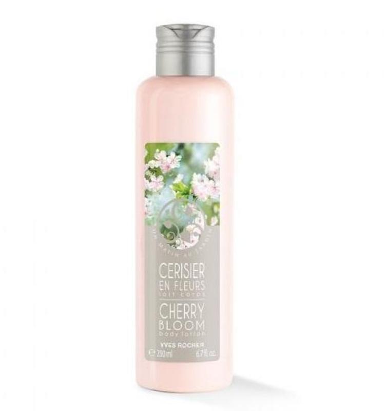 Sữa Dưỡng Thể Hương Hoa Anh Đào Yves Rocher Un Matin au Jardin Cherry Bloom Body Lotion 200ml nhập khẩu